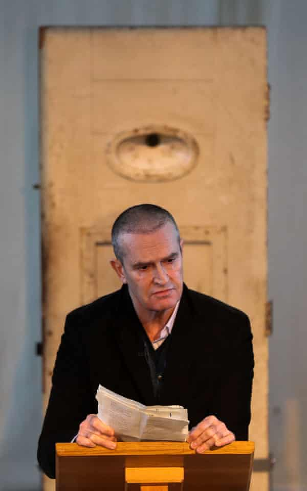 Rupert Everett reading The Ballad of Reading Gaol at the former prison in 2016.