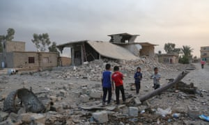 An impossible decision: civilians trapped in Mosul are at risk from airstrikes, but face being killed by Isis if they try to flee.