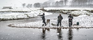 Fishermen on the Ure near Hawes