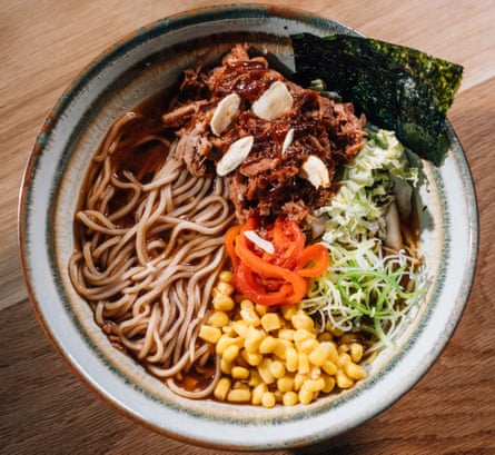'They make their own noodles. Their broth has 26 ingredients and takes 40 hours to make': pulled pork ramen.