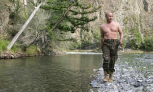 Russian president Vladimir Putin's 'gunslinger gait'