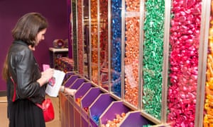 Quality Street pick-and-mix at John Lewis.