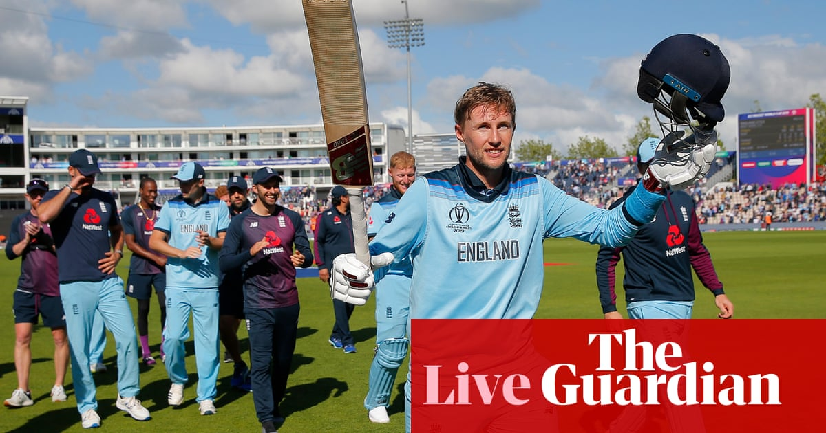 England Beat West Indies By Eight Wickets Cricket World Cup