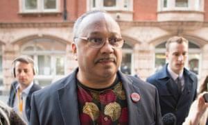 Labour activist Marc Wadsworth