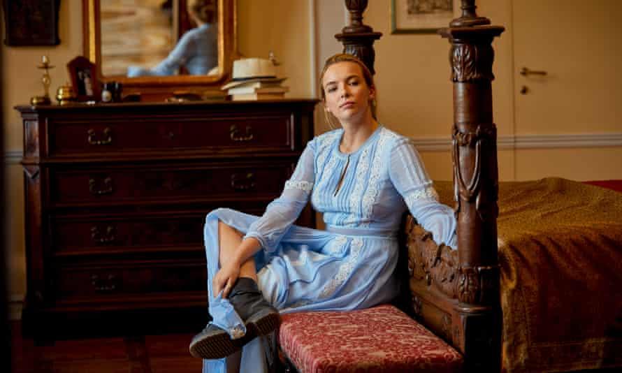 Jodie Comer as Villanelle, 'Killing Eve's mesmerising sociopath'.
