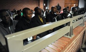 South African policemen in court accused of killing Mido Macia