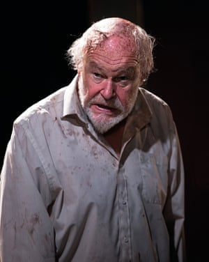 Timothy West as King Lear at Bristol Old Vic.