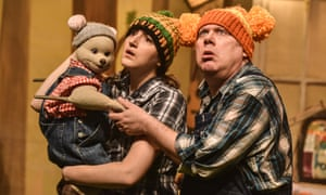 Captivating production … Goldilocks and the Three Bears.