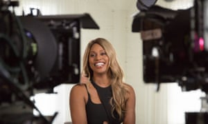 Laverne Cox in a scene from Disclosure.