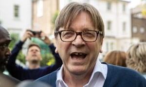 Guy Verhofstadt in London