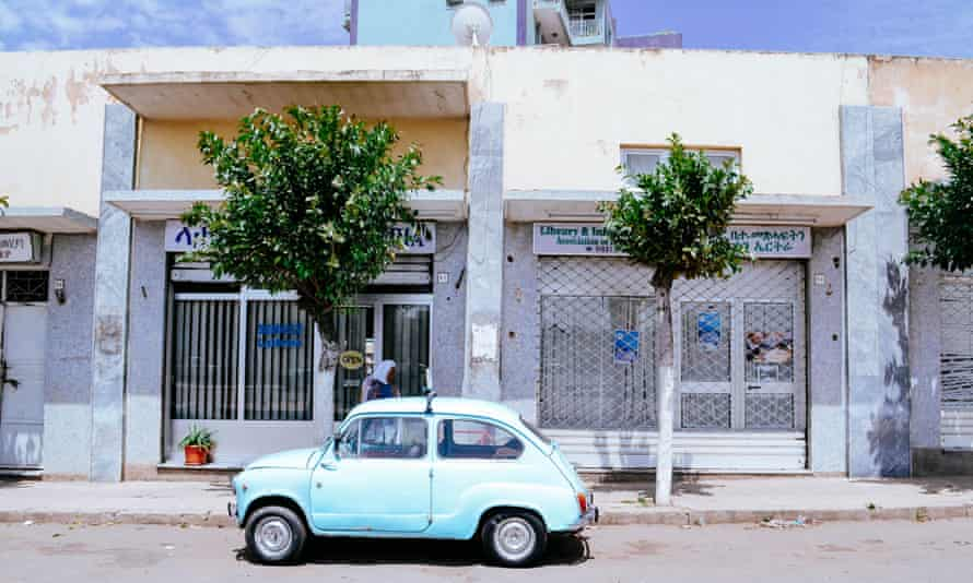 Faded 30s glamour in the capital, Asmara.