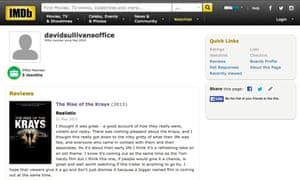 'I hope that viewers give it a go,' writes IMDb user davidsullivansoffice.