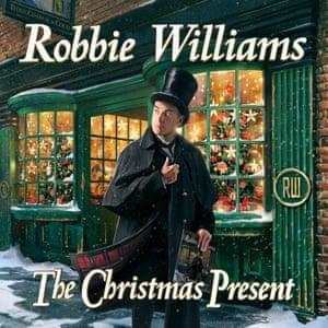 Robbie Williams: Christmas Present album art work