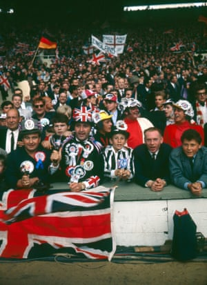 It's pretty packed inside Wembley Stadium