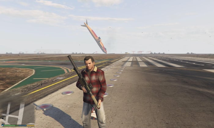 How blowing up planes in Grand Theft Auto V eased me into