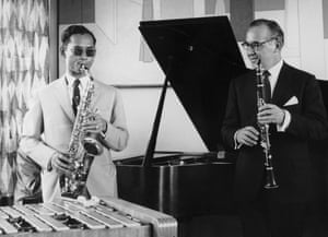 Jamming with Benny Goodman in New York 1960