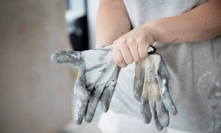 A self-employed decorator