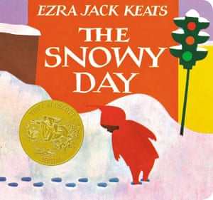 "Book cover of Ezra Jack Keats ""The Snowy Day"""