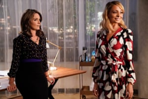 Tina Fey and Nicole Richie in Great News.