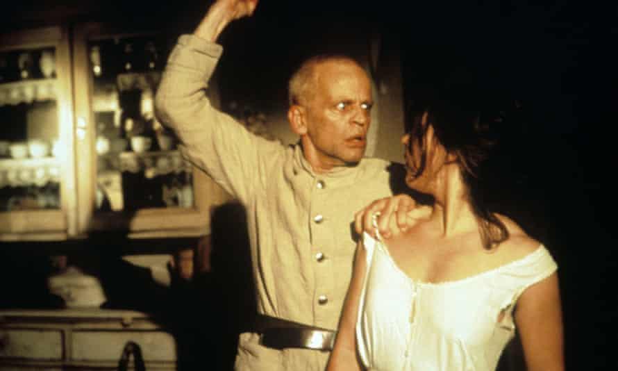 Klaus Kinski and Eva Mattes in Werner Herzog's 1979 film of Woyzeck.