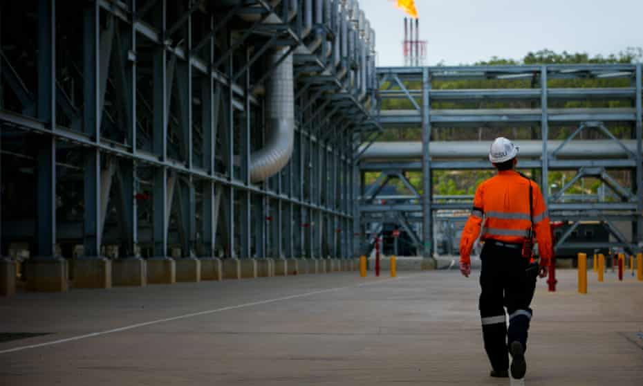 The Curtis LNG project site in Queensland