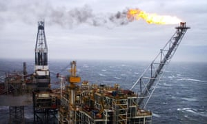 UK oil and gas firms are cutting spending in the North Sea