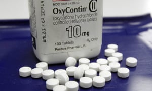 OxyContin is at the centre of an epidemic estimated to have claimed at least 300,000 lives.