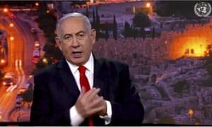 Prime Minister Benjamin Netanyahu, of Israel