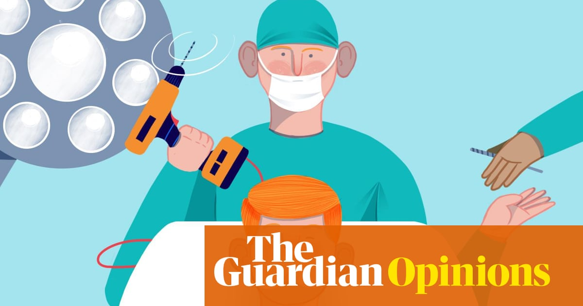 The secret life of a trainee brain surgeon: it's all about