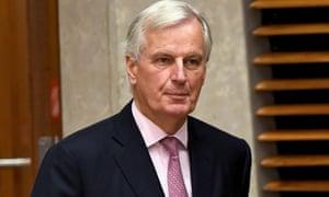 Michel Barnier, the EU's chief Brexit negotiator