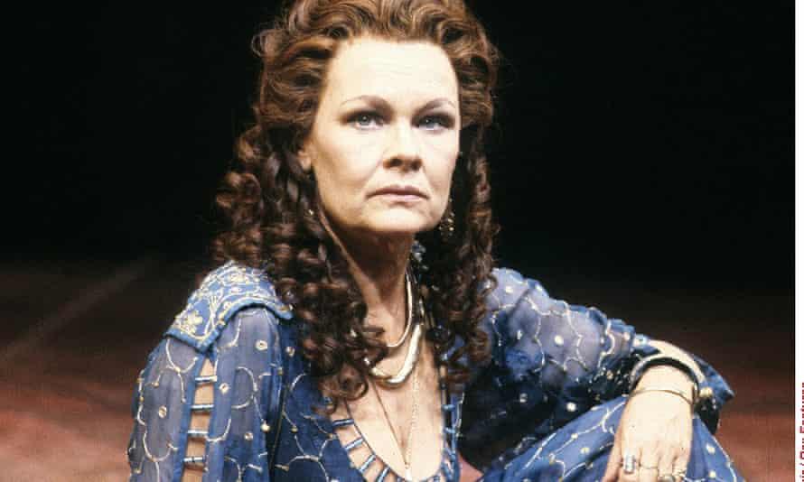 Judi Dench in Hall's 1987 production of Antony and Cleopatra.