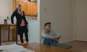 Hayah Ghazoul, and her brother Abdulrzzaq Ghazoul in Charlottesville, Virginia.