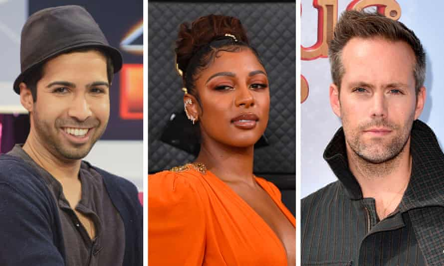 Savan Kotecha, Victoria Monét and Justin Tranter, who are calling for reforms to songwriting royalties.