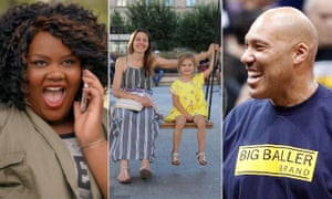 Three new shows launching on Facebook's Watch platform: Loosely Exactly Nicole, Humans of New York and Ball in the Family.