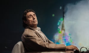 Ian McShane as Mr Wednesday in American Gods.