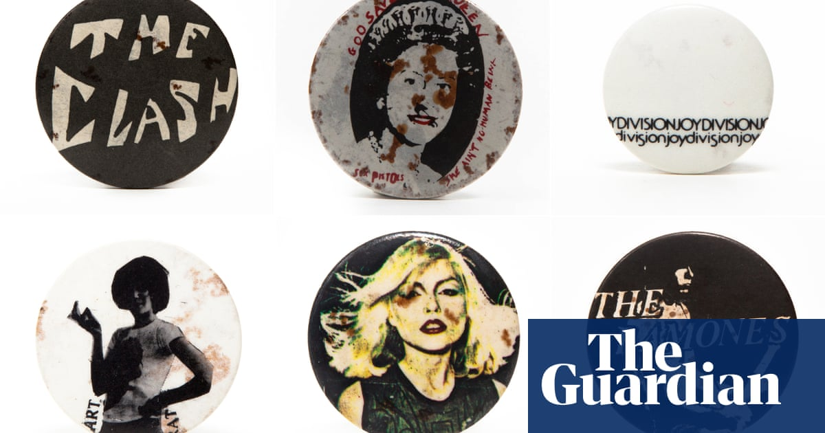 Moving the needle: the punk badges that defined the 1970s
