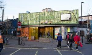 The Reprezent HQ in Pop Brixton, south London.