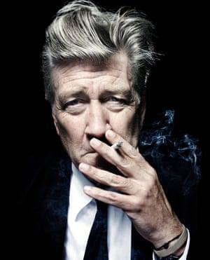 'I was panicking on the way up' … David Lynch.