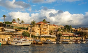 The old port in Byblos, one of the oldest cities in the world