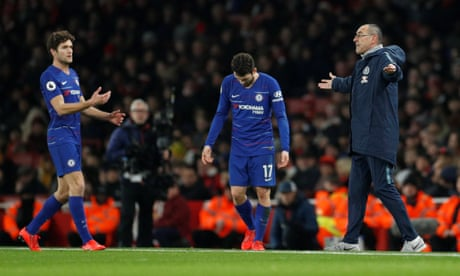 Chelsea players are 'extremely difficult to motivate', says Maurizio Sarri