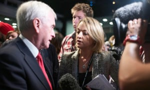 Laura Kuenssberg with John McDonnell at Labour Party Conference 2017