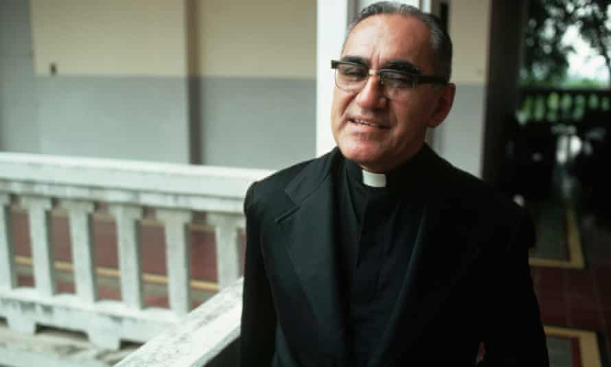 Archbishop Óscar Romero was murdered as he said mass in 1980 for speaking out against injustice.