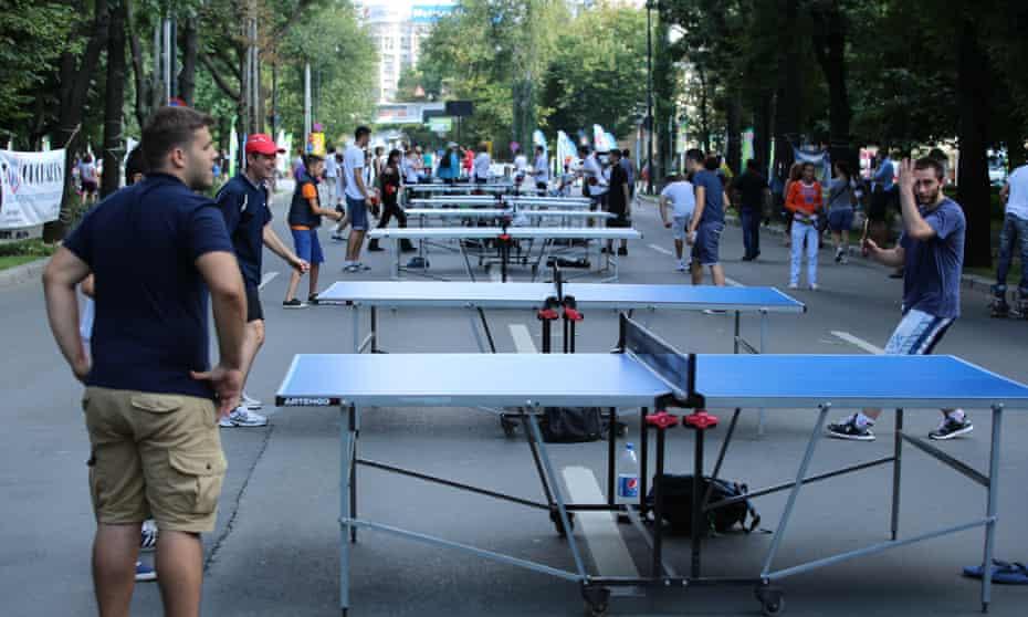 Via Sport table tennis