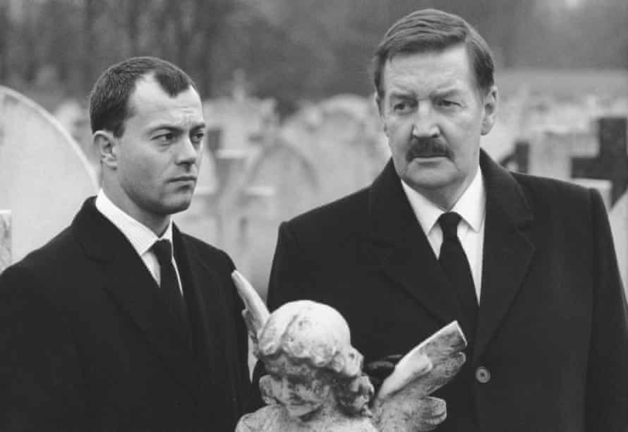 Ray McAnally (right) as leftwing PM Harry Perkins in A Very British Coup. Photograph: BFI