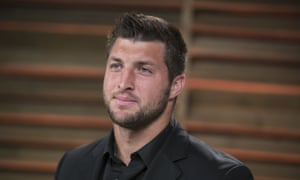 Quarterback Tim Tebow shot to fame in the NFL for his religiosity more than for talent.