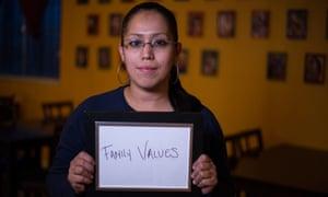 Alejandra Villejas, 29, in Denver, Colorado.