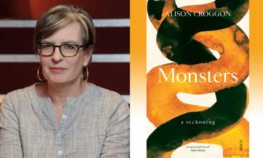 Composite for Australia book review, March 2021, of Alison Croggon and her new book Monsters.