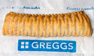 Greggs's vegan sausage roll.