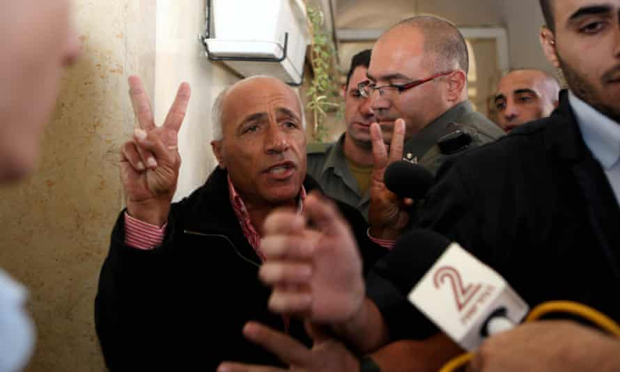 Mordechai Vanunu pictured appearing in court for a previous hearing into parole violations in 2009.