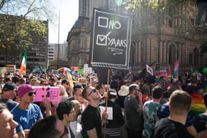 No or 'yaaas' – the two choices on the postal survey